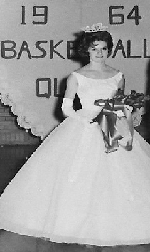 #103 P3 SUZIE SCHMID, 1964 VIKINGS BASKETBALL QUEEN