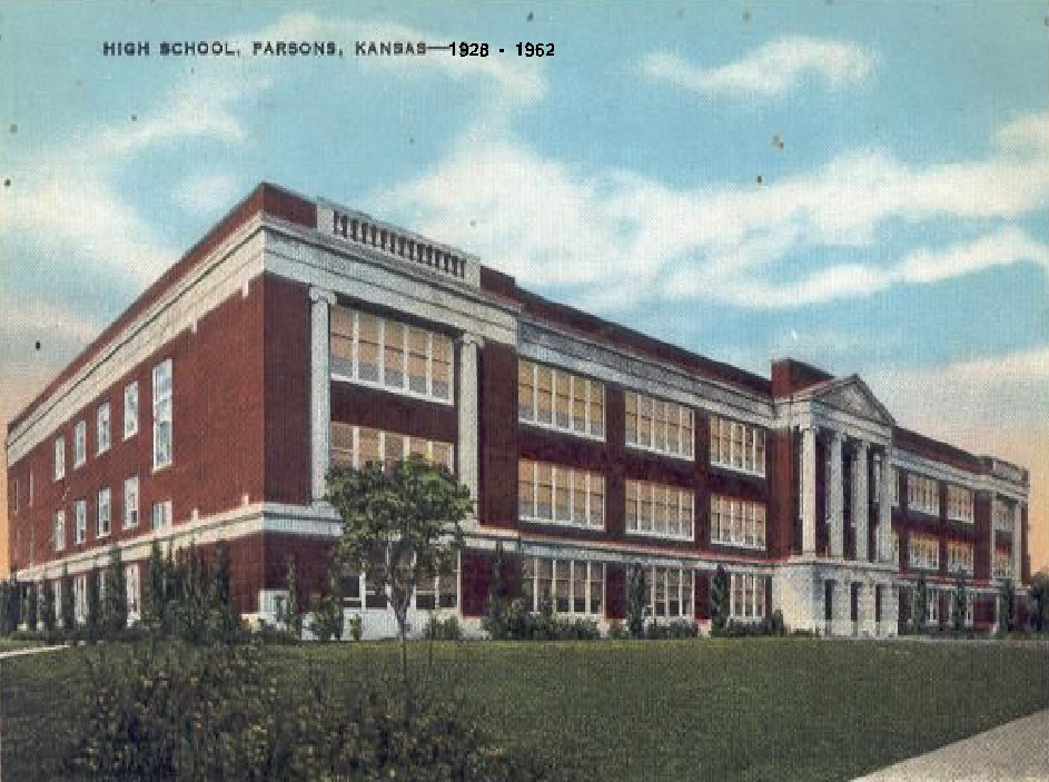#2 PARSONS HIGH SCHOOL 1928-1962 BACK TO THE FUTURE OF BIG SCREEN TV BELOW PICTURE #2