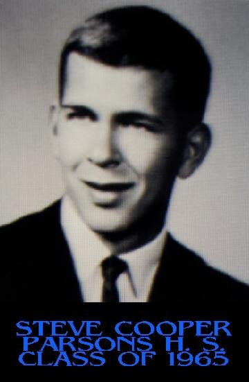 #97 STEVE COOPER PHS CLASS OF 1965