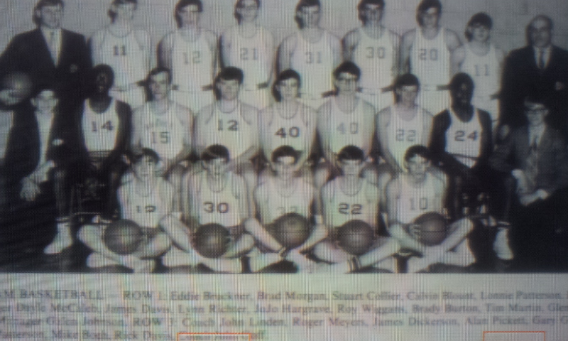 #54 P3 JOHNNY LINDEN ASSISTANT BASKETBALL COACH AT COUNCIL GROVE KANSAS