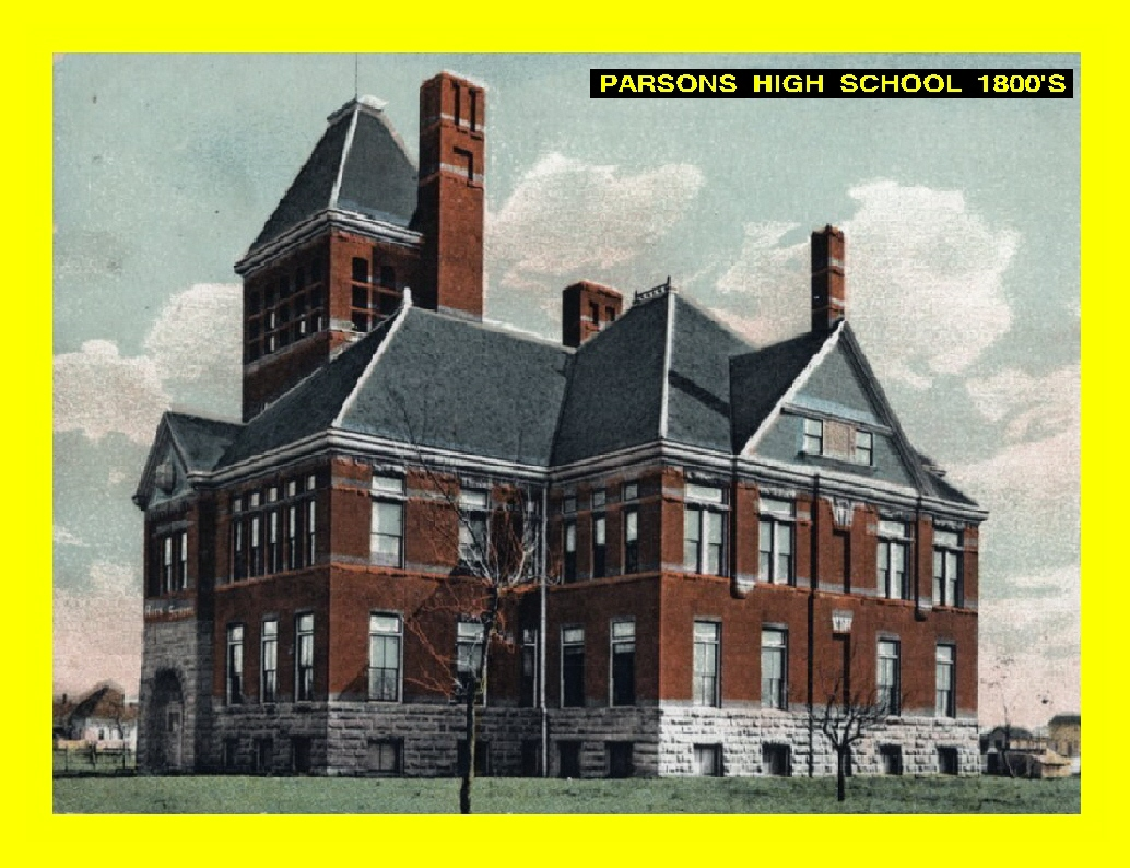 #1 PARSONS HIGH SCHOOL 1800'S PICTURES WITH YELLOW BORDERS HAVE LARGE GROUPS OF SONGS. (This picture is 240 songs max)