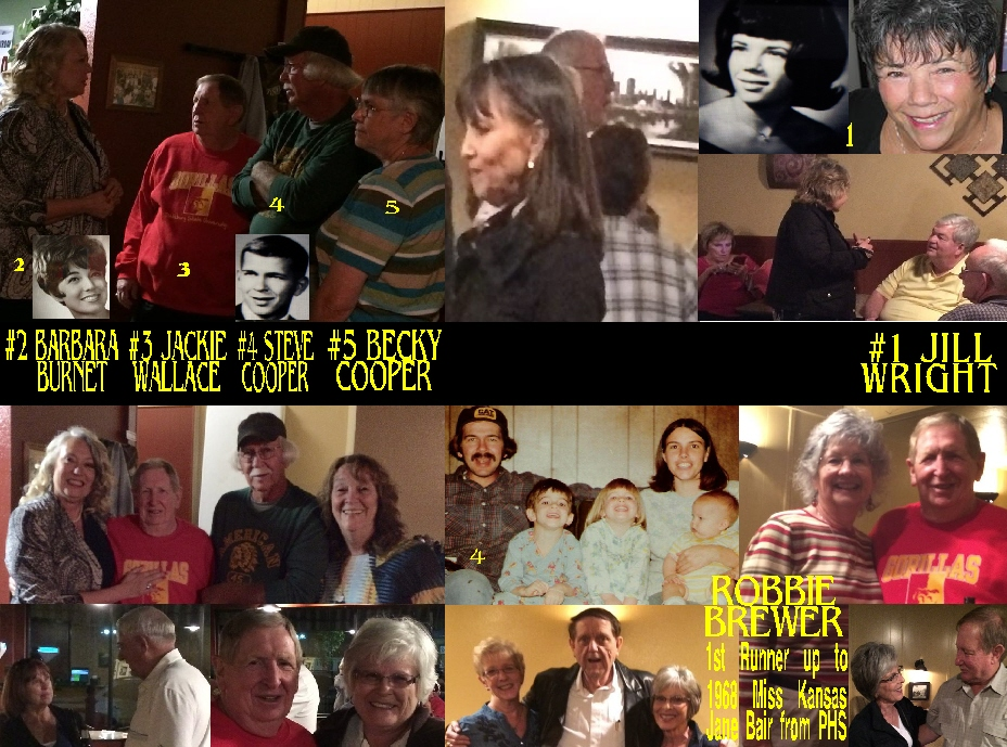 #99 THE CLASS OF 1965 50 YEAR REUNION PARSONS KANSAS OCT. 9 & 10, 2015