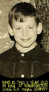 #11 WHO IS THIS 8 YR OLD FROM THE CLASS OF 1964? MAYBE JOHNNY LINDENLOFT, SEE PIC #11 P4