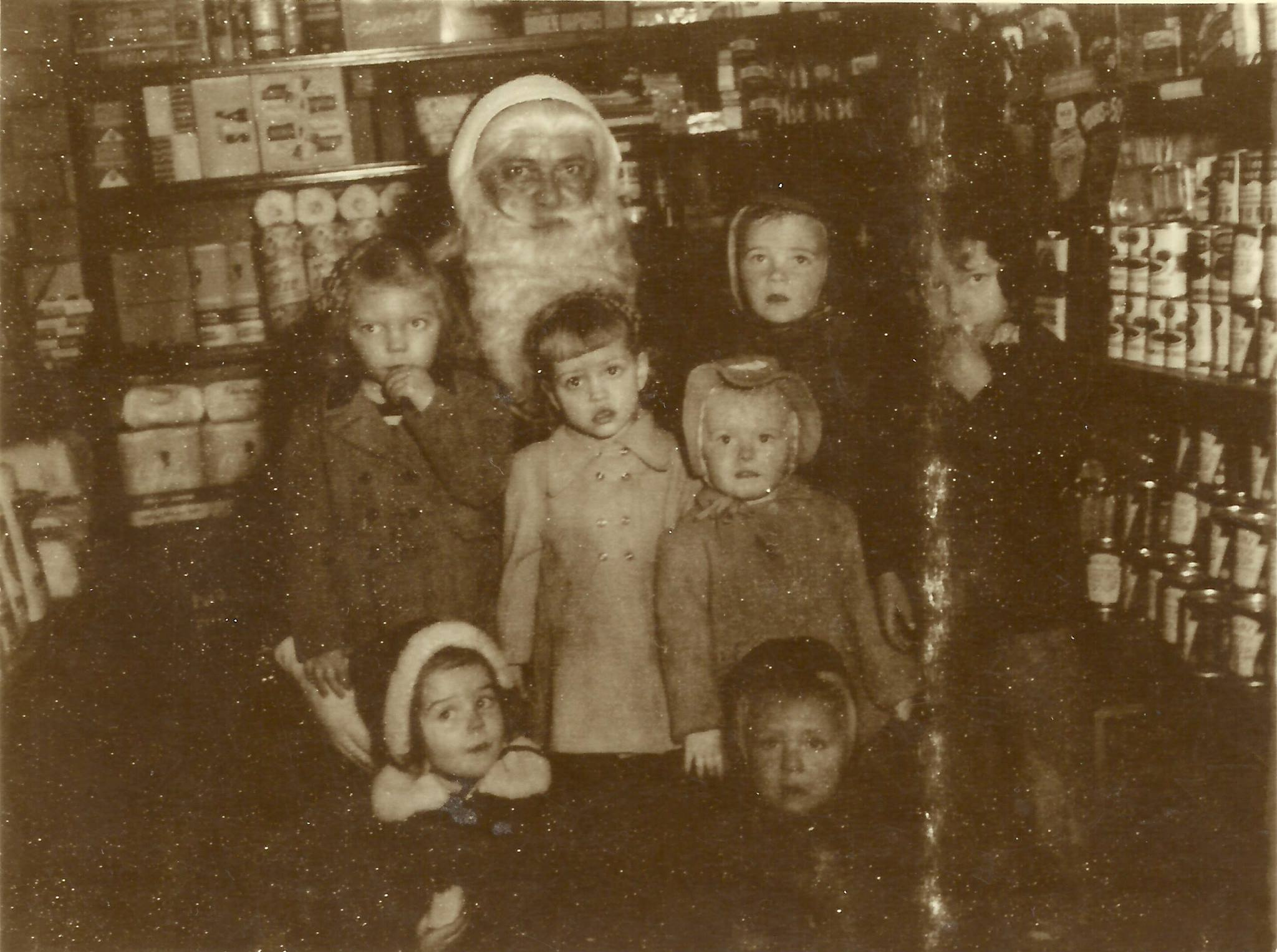MUSIC INDEX & OUR PARSONS SANTA CLAUS & ME AT CHRISTMAS 1949