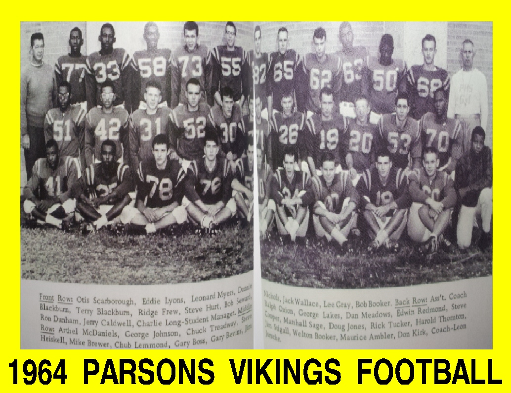 #24 P3 POP ROCK DISCO 50'S, 60'S, 70'S, 80'S - 63/64 VIKINGS FOOTBALL TEAM