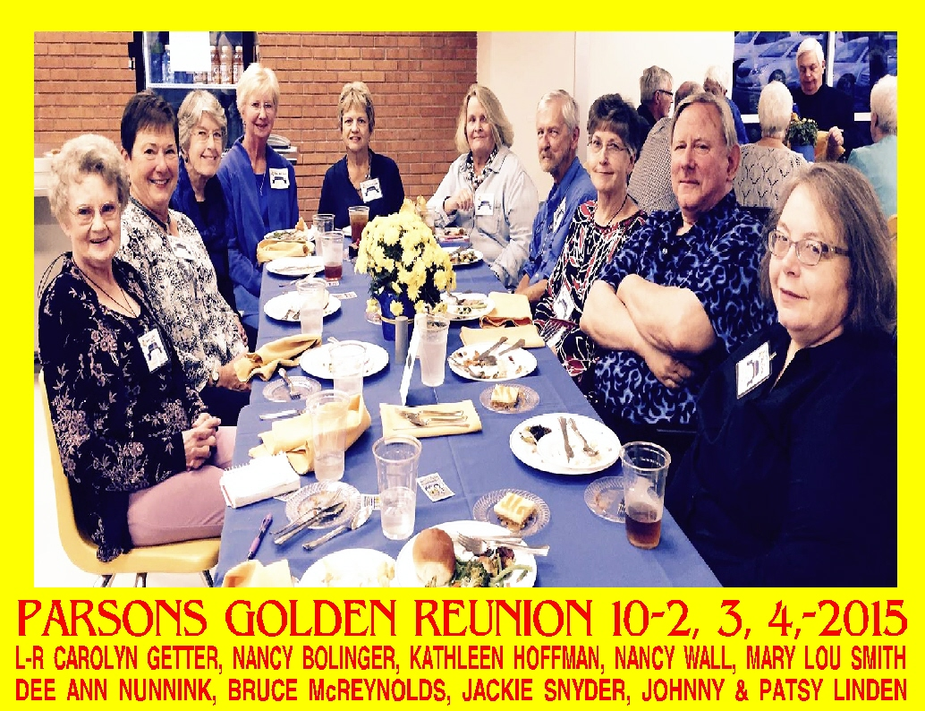 #19 - 100 SONGS LIST BY YEAR OF PEOPLE AT THE 2015 GOLDEN REUNION