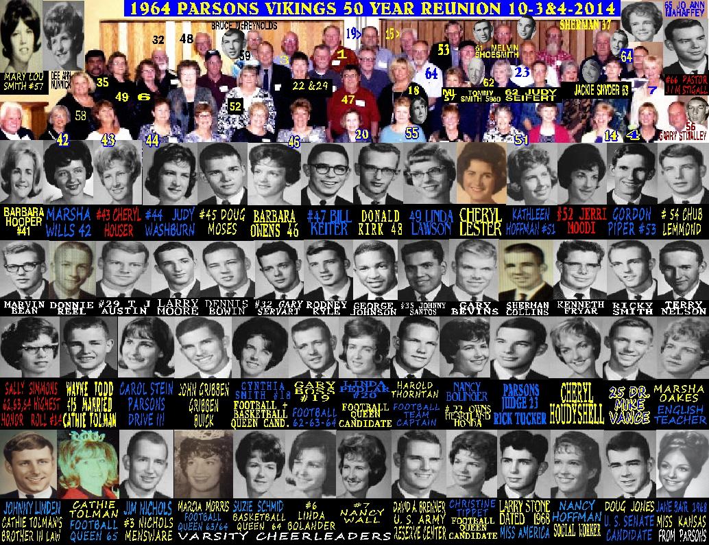 #207 PARSONS VIKINGS 1964 - 2014