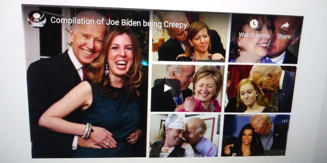#56 SECRET SERVICEMAN SAYS FEELY JOE BYEDEN WOULD GRAB THE @$$ OF ALL THEIR WIVES AND OTHER WOMEN