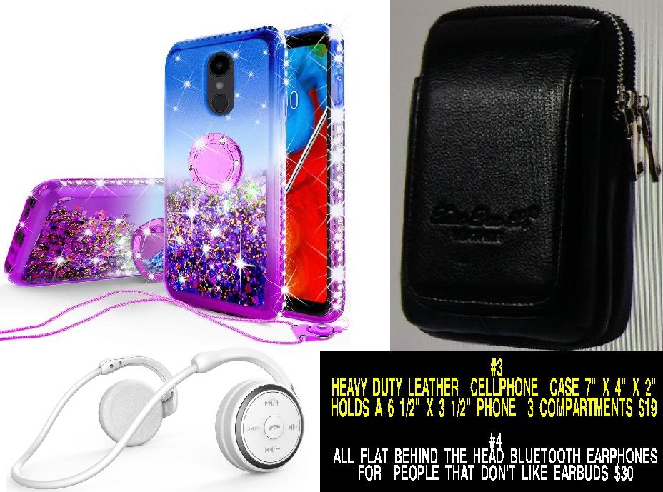 #6 Liquid Glitter Cute Phone Case Kickstand for LG Stylo 5 / Stylo 5 Plus Case Clear Bling Diamond Bumper Ring Stand $12