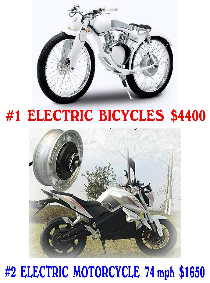 #11 ELECTRIC BICYCLE & MOTORCYCLE