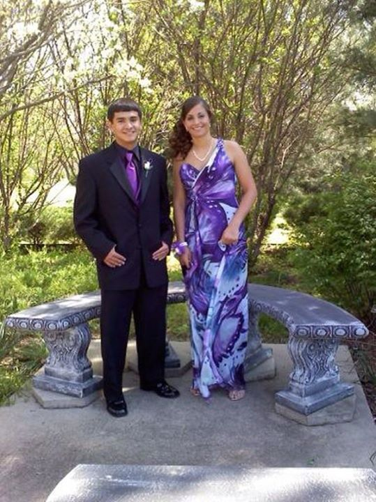 #111 CHRIS PONCE & PROM DATE PHS 2011